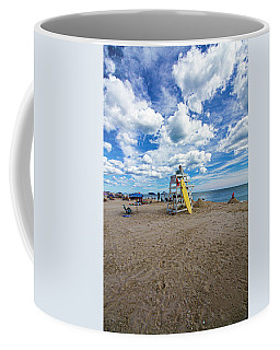 Lifeguard At Pike's Beach Coffee Mug