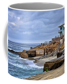 Lifeguard Station At Children's Pool Coffee Mug
