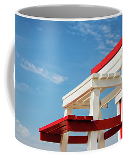 Lifeguard Station Coffee Mug