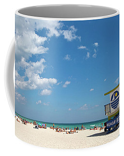 Lifeguard Station Miami Beach Florida Coffee Mug