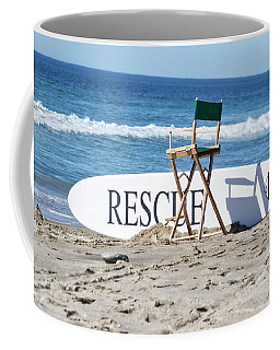 Lifeguard Surfboard Rescue Station  Coffee Mug