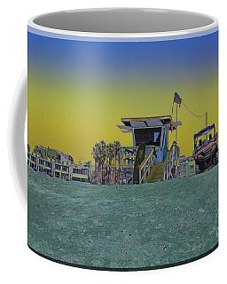 Lifeguard Tower 4 Coffee Mug