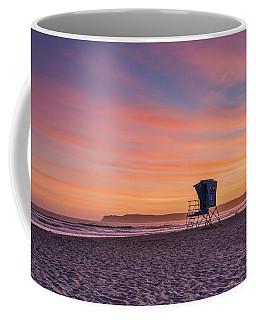 Lifeguard Tower Sunset Coffee Mug