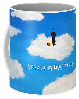 Life's A Journey Greeting Card Coffee Mug