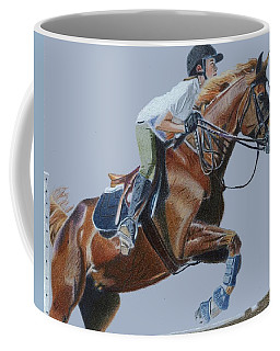 Horse Jumper Coffee Mug