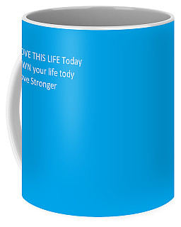 Coffee Mug featuring the photograph Life's Keys by Aaron Martens