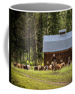 Coffee Mug featuring the photograph Lifestyle by Mary Hone