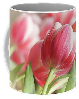 Light And Lovely Tulips Two Coffee Mug