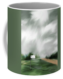 Light At The 17th Green Coffee Mug