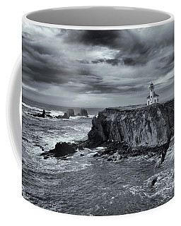 Coffee Mug featuring the photograph Light Before The Storm by Mike Dawson