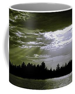 Light Blast In Evening Coffee Mug