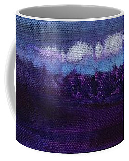 Coffee Mug featuring the painting Light Breaks Through by Kim Nelson