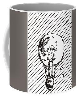 Light Bulb 1 2015 - Aceo Coffee Mug