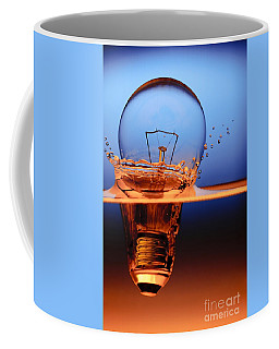 Light Bulb And Splash Water Coffee Mug