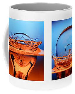 Light Bulb Drop In To The Water Coffee Mug