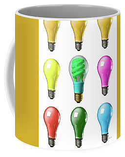 Light Bulbs Of A Different Color Coffee Mug
