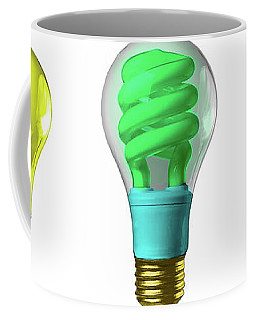 Light Bulbs Of A Different Color Coffee Mug by Bob Orsillo