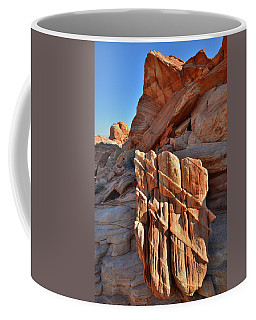 Light Creeps In At Valley Of Fire State Park Coffee Mug