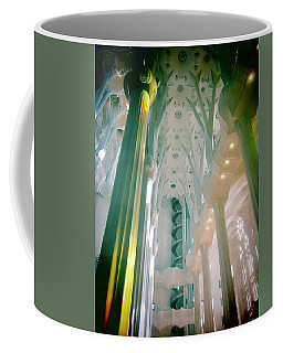 Coffee Mug featuring the photograph Light Dancing On The Ceiling by Christin Brodie