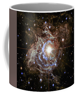 Coffee Mug featuring the photograph Light Echoes by Marco Oliveira