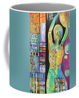 Light Energy Coffee Mug by Karin Husty