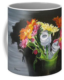 Light Flowers Coffee Mug