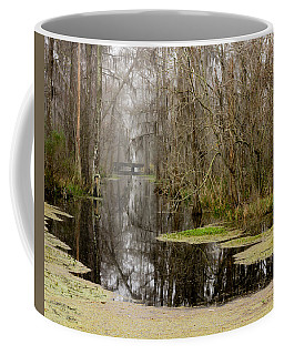 Light Fog On The Swamp Coffee Mug