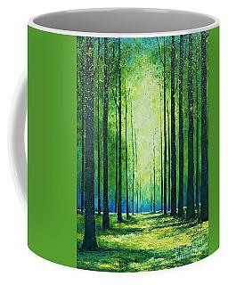 Light From Green Coffee Mug