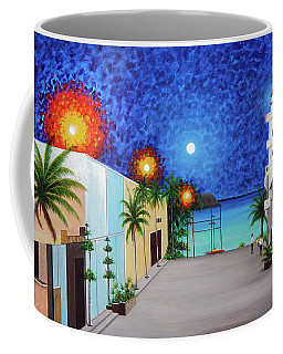 Light House Playa Del Carmen Version II Coffee Mug