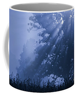 Light In Blue Coffee Mug
