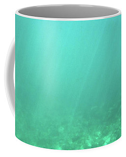 Coffee Mug featuring the photograph Light In The Water by Francesca Mackenney