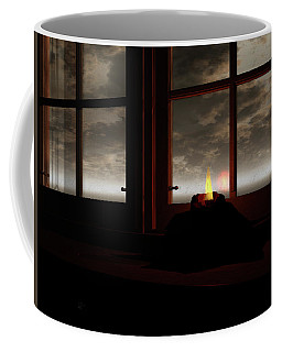 Light In The Window Coffee Mug by Michele Wilson