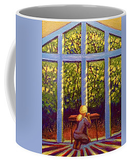 Light Lit Coffee Mug by Jeanette Jarmon