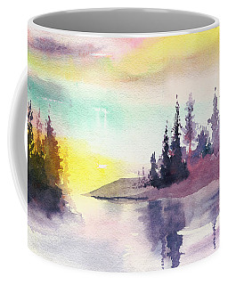 Light N River Coffee Mug