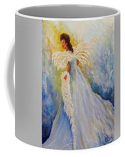 Light Of Grace,angel Coffee Mug