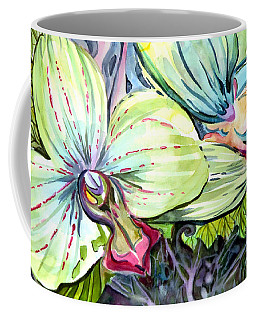 Light Of Orchids Coffee Mug