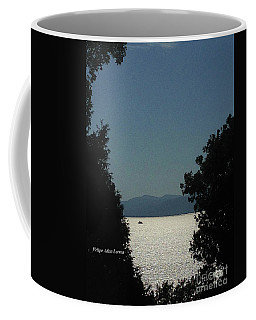 Image Included In Queen The Novel - Light On Lake Champlain 20of74 Coffee Mug