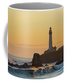 Light On The Waves Coffee Mug