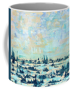 Light Over Broad Creek Coffee Mug