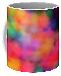 Lucky Neon Stars Coffee Mug