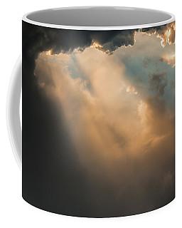Light Punches Through Darkness Coffee Mug