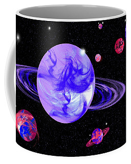 Light Purple In Space Coffee Mug by Samantha Thome