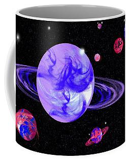 Light Purple In Space Coffee Mug