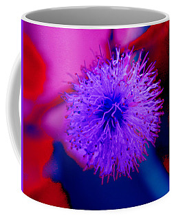 Light Purple Puff Explosion Coffee Mug by Samantha Thome