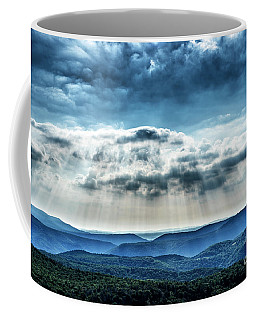 Coffee Mug featuring the photograph Light Rains Down by Thomas R Fletcher