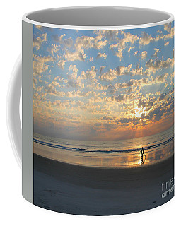 Coffee Mug featuring the photograph Light Run by LeeAnn Kendall