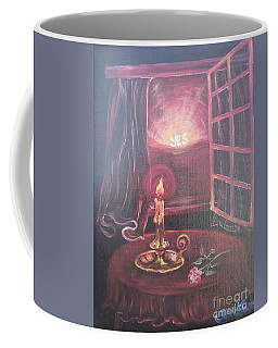 Flying Lamb Productions      Light The Yes Candle Coffee Mug