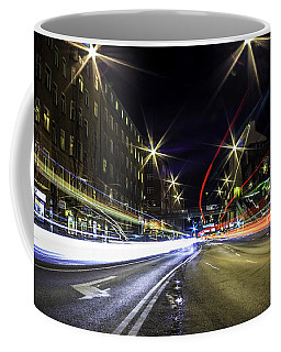 Coffee Mug featuring the photograph Light Trails 2 by Nicklas Gustafsson