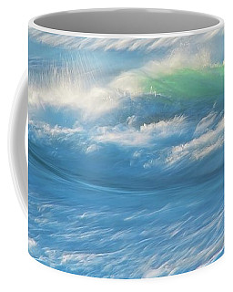 Light Wave At Asilomar, Pacific Grove, California Coffee Mug