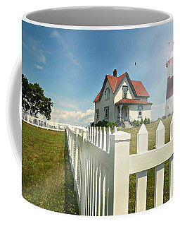 Light In Your Heart Coffee Mug by Diana Angstadt